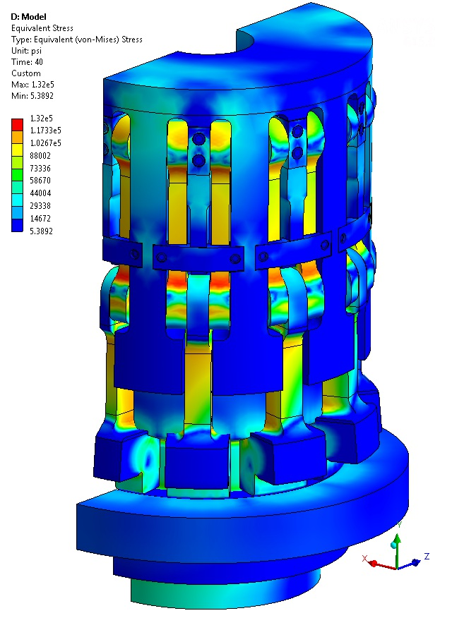 finite element modelling and analysis of Fea experts providing finite element modelling and analysis support to scientific and engineering projects, specialising in magnetic and electro-mechanical design.