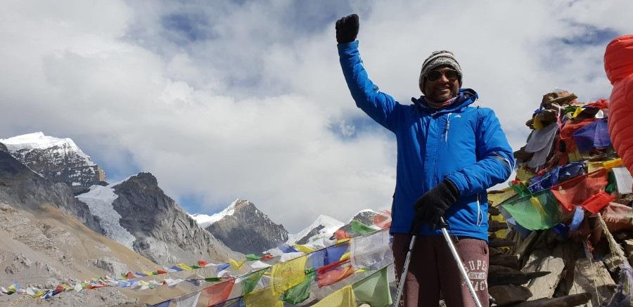 Pinakin tackles Annapurna Circuit in Nepal