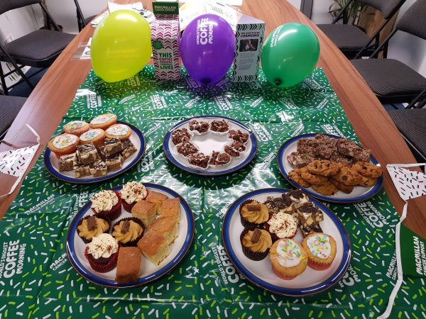 AS Mosley runs Coffee Morning for Macmillan Cancer Support
